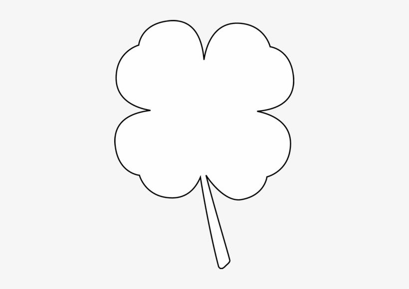 White clover clipart clip art stock Black And White Four Leaf Clover Clip Art - White Clover ... clip art stock