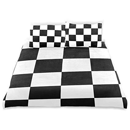 White comforter clipart clipart transparent stock Amazon.com: Mapotofux Duvet Cover Cotton Bedding 3 Piece Set ... clipart transparent stock