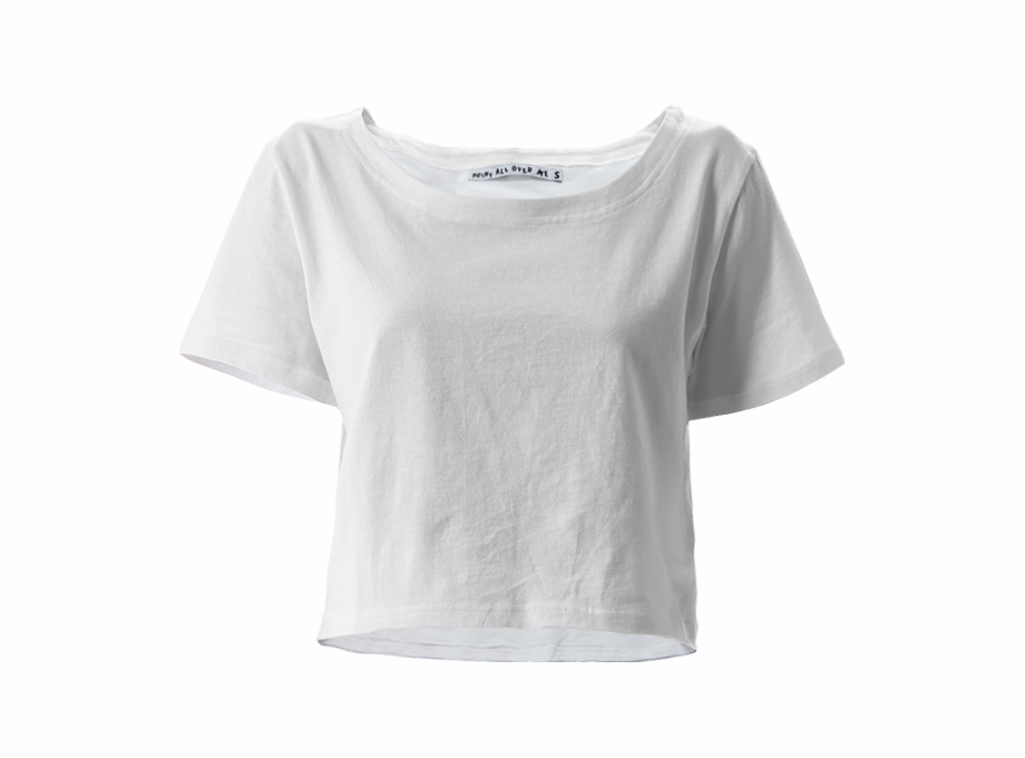 White crop top clipart jpg black and white Crop Tee - Crop Top Transparent Background Free PNG Images ... jpg black and white