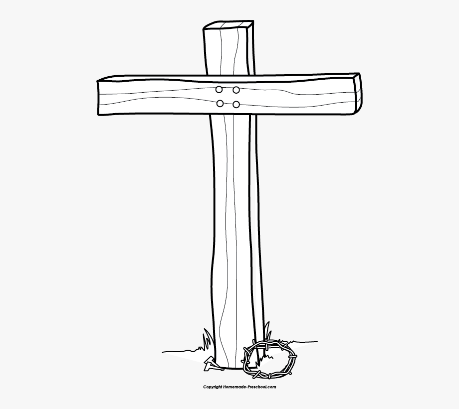 White cross clipart transparent stock Cross Black And White Picture For Easter Cross Clipart ... stock