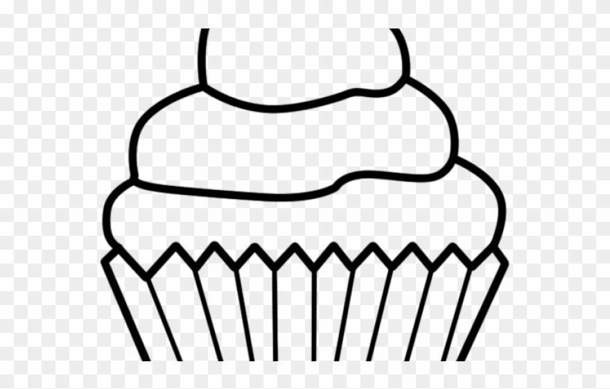Art Black Cake Clip White And