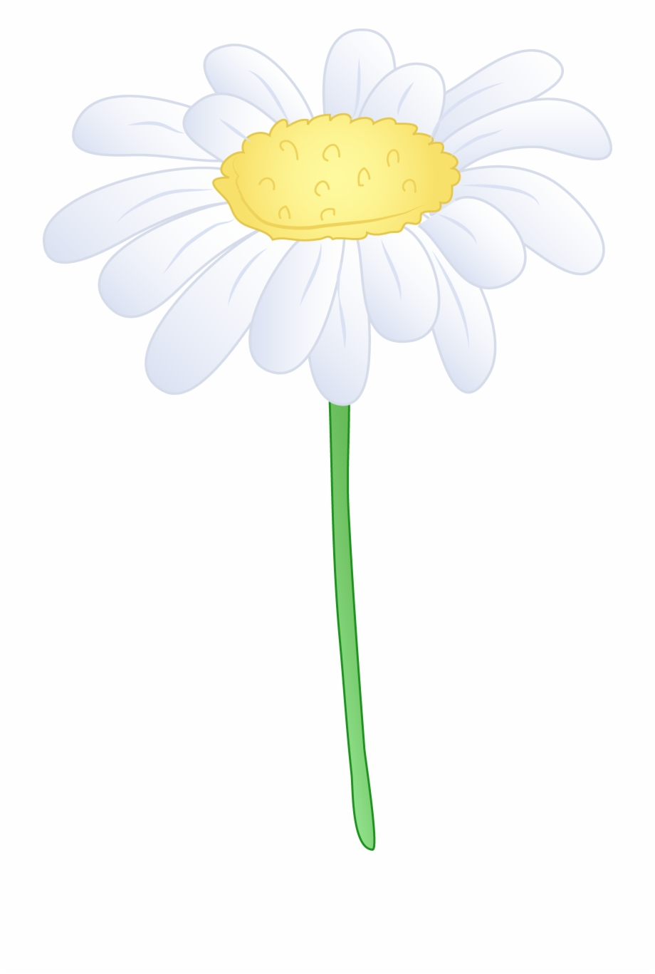 White daisy flower clipart picture royalty free stock Single White Daisy Flower Hd Photo Clipart - White Daisy ... picture royalty free stock