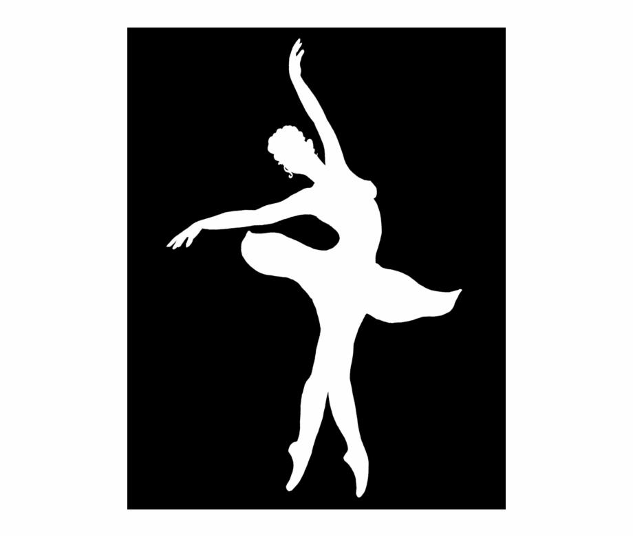 White dancer silhouette clipart transparent stock Dancing Ballerina Silhouette - Dancing Ballerina White ... transparent stock