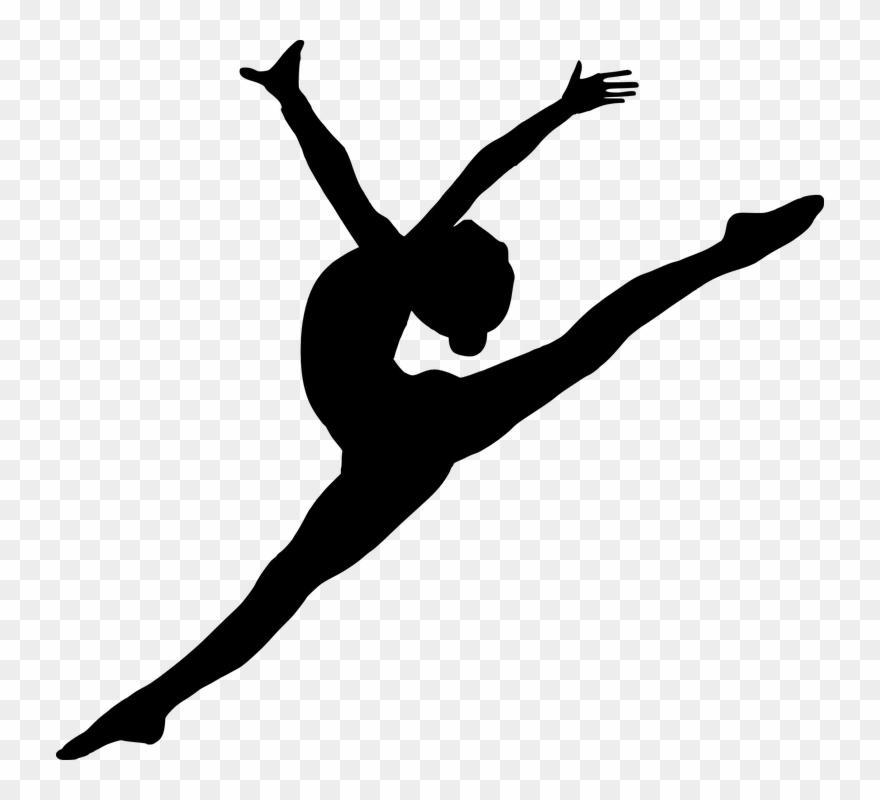 White dancer silhouette clipart jpg black and white library Silhouette Of Ballet Dancer At Getdrawings Com - Dancer ... jpg black and white library