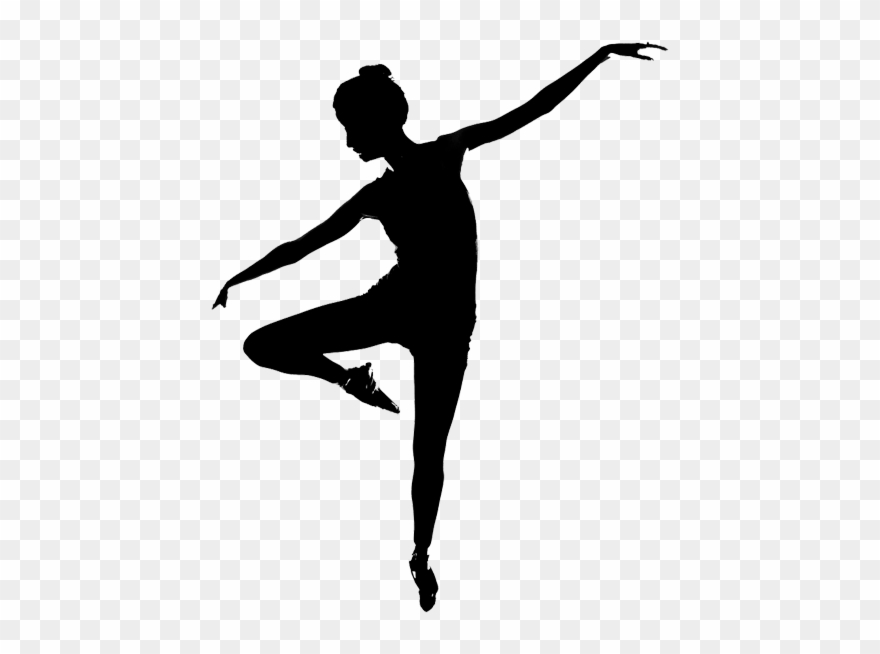 White dancer silhouette clipart jpg royalty free download Contemporary Dance Dancer Silhouette Clipart (#802422 ... jpg royalty free download