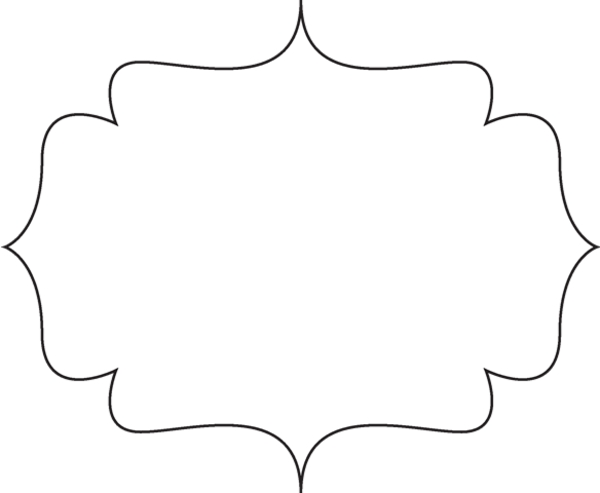 White decorative text box clipart vector free Decorative text box clipart 4 » Clipart Station vector free