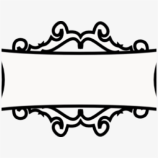 White decorative text box clipart vector Clipart Wallpaper Blink - Decorative Text Boxes Png #2504352 ... vector