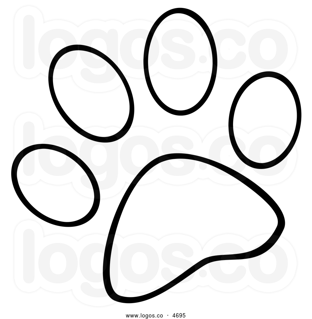 White dog paw print clipart svg free and White Dog Paw Print | Clipart Panda - Free Clipart Images svg free