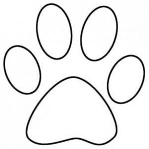 White dog paw print clipart banner freeuse library 68+ Paw Print Clip Art Black And White | ClipartLook banner freeuse library