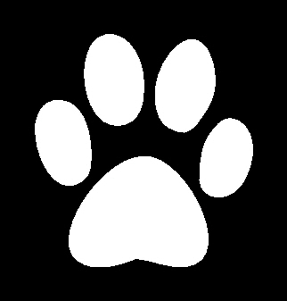 White dog paw clipart svg transparent library Free Dog Paw, Download Free Clip Art, Free Clip Art on ... svg transparent library