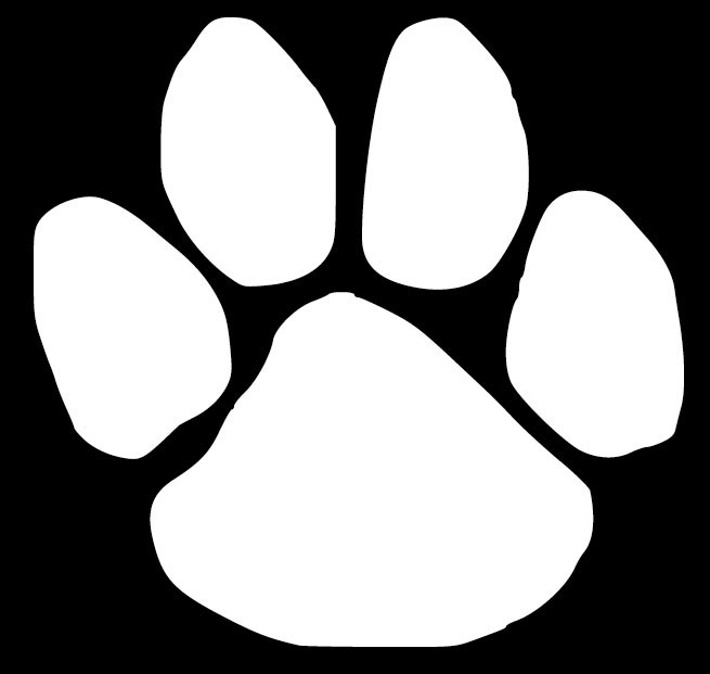 White dog paw print clipart png library Free White Paw Print, Download Free Clip Art, Free Clip Art ... png library