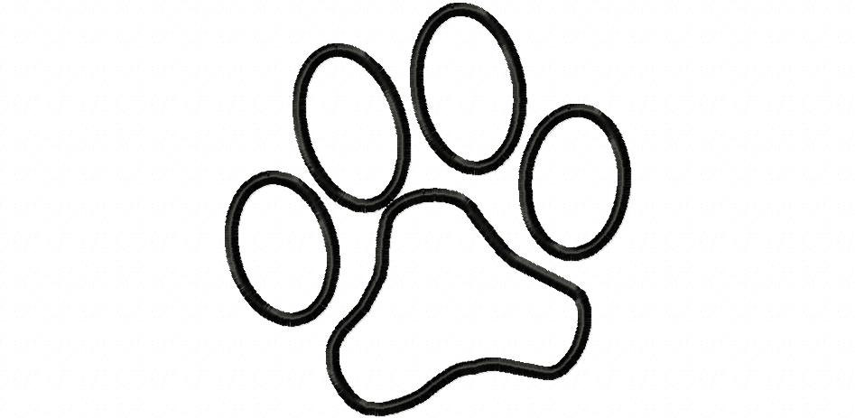 White dog paw print clipart banner transparent library Free White Paw Print, Download Free Clip Art, Free Clip Art ... banner transparent library