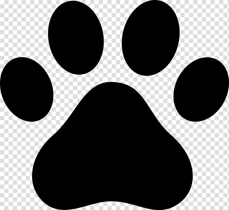 White dog paw print clipart transparent background image black and white download Dog Cat Paw Decal , paw print transparent background PNG ... image black and white download