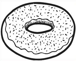Plain donut black and white clipart banner royalty free stock Free Simple Donut Cliparts, Download Free Clip Art, Free ... banner royalty free stock