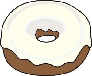 White donuts clipart picture library download Donut Clip Art Black And White | Clipart Panda - Free ... picture library download
