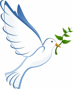 White dove clipart free vector freeuse Clipart White Doves | Free Images at Clker.com - vector clip ... vector freeuse