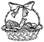 White easter basket clipart picture freeuse Related Keywords & Suggestions for Easter Basket Clipart Black And ... picture freeuse