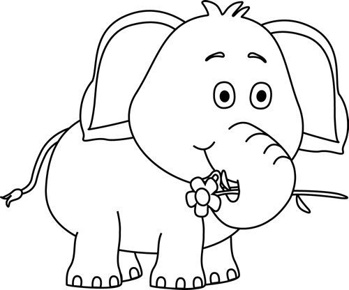 White elephant clipart free picture transparent stock Elephant Clipart Black And White | Clipart library - Free ... picture transparent stock