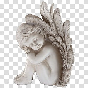 White figurines clipart png clipart free library Spring YEAR ON DA, white angel figurine art transparent ... clipart free library