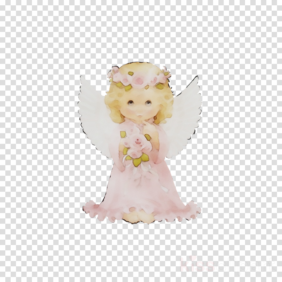 White figurines clipart png clip art library download Angel, White, Pink, transparent png image & clipart free ... clip art library download