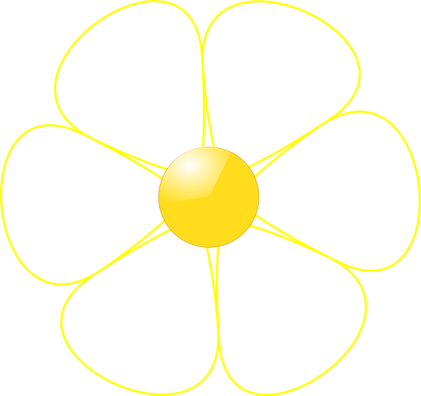 Yellow clipart flower vector freeuse download White flower clipart png - ClipartFest vector freeuse download