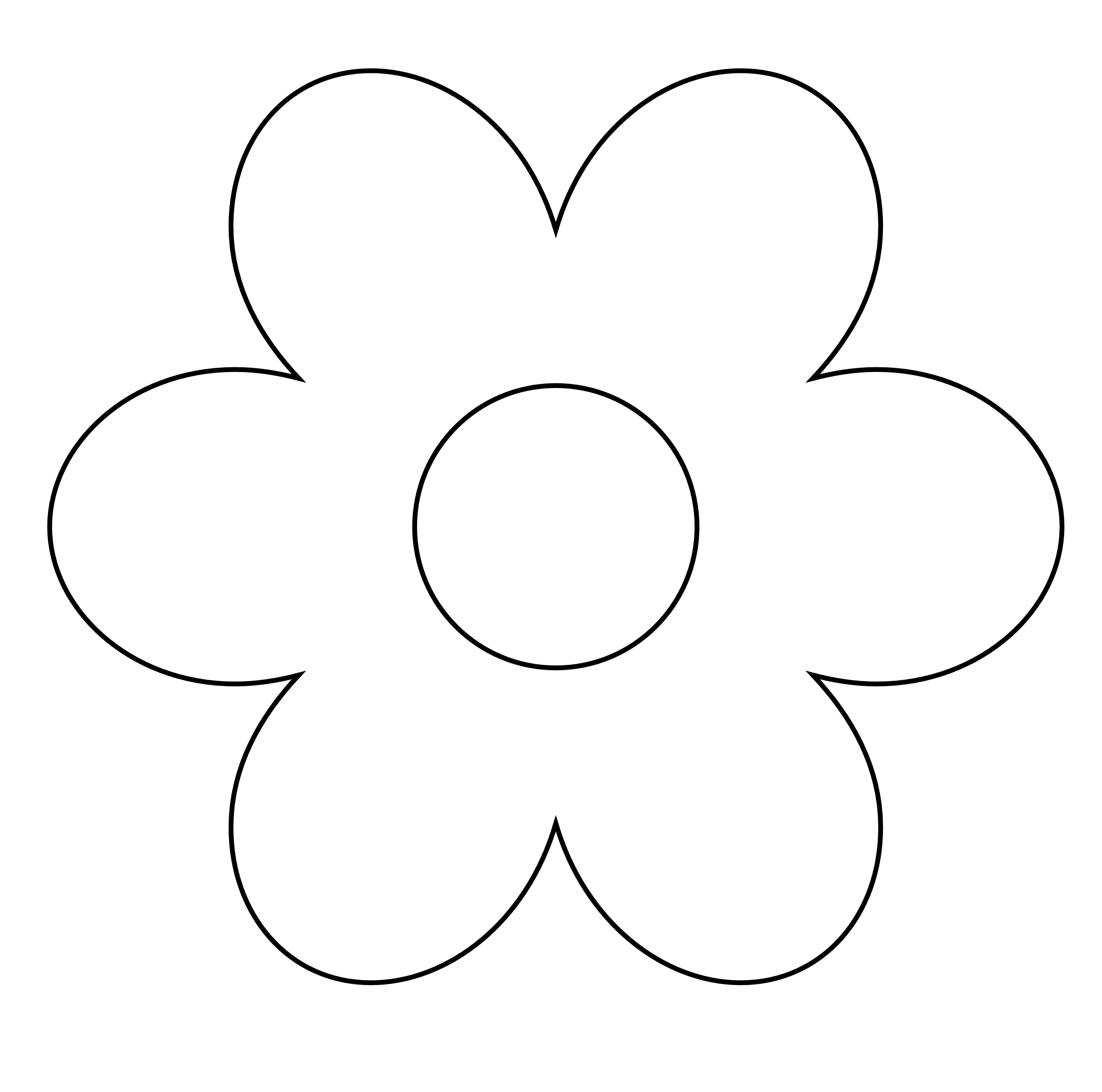 Flower petal clipart black and white graphic freeuse library White flower clipart png - ClipartFest graphic freeuse library
