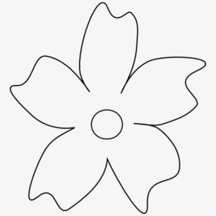 White flower petals clipart png black and white library PNG Flower Petal Cliparts & Cartoons Free Download - NetClipart png black and white library