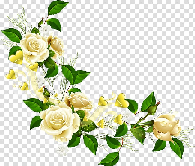 White flowers corner border clipart picture black and white White roses border, Border Flowers , corner flower ... picture black and white