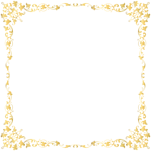 White frame gold trim clipart picture freeuse stock HD Decorative Border Png - Border Frame Gold Png , Free ... picture freeuse stock