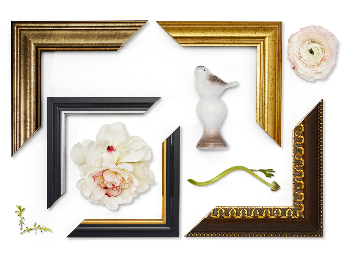 White frame gold trim clipart png free stock Limited Edition Photo Frames Collection png free stock