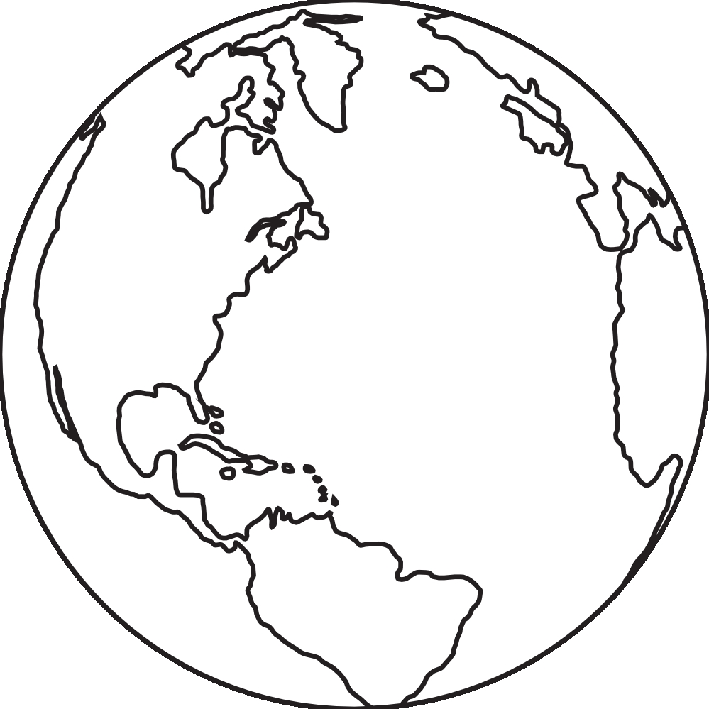 White globe clipart banner stock Globe picture black and white pictures and png - ClipartPost banner stock