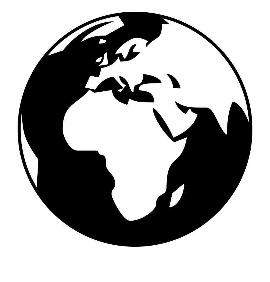 White globe clipart picture freeuse Globe Clipart Black And White Clipartpost With Regard ... picture freeuse
