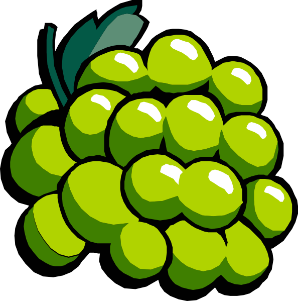 White grapes clipart svg transparent download White Grapes Clip Art at Clker.com - vector clip art online ... svg transparent download