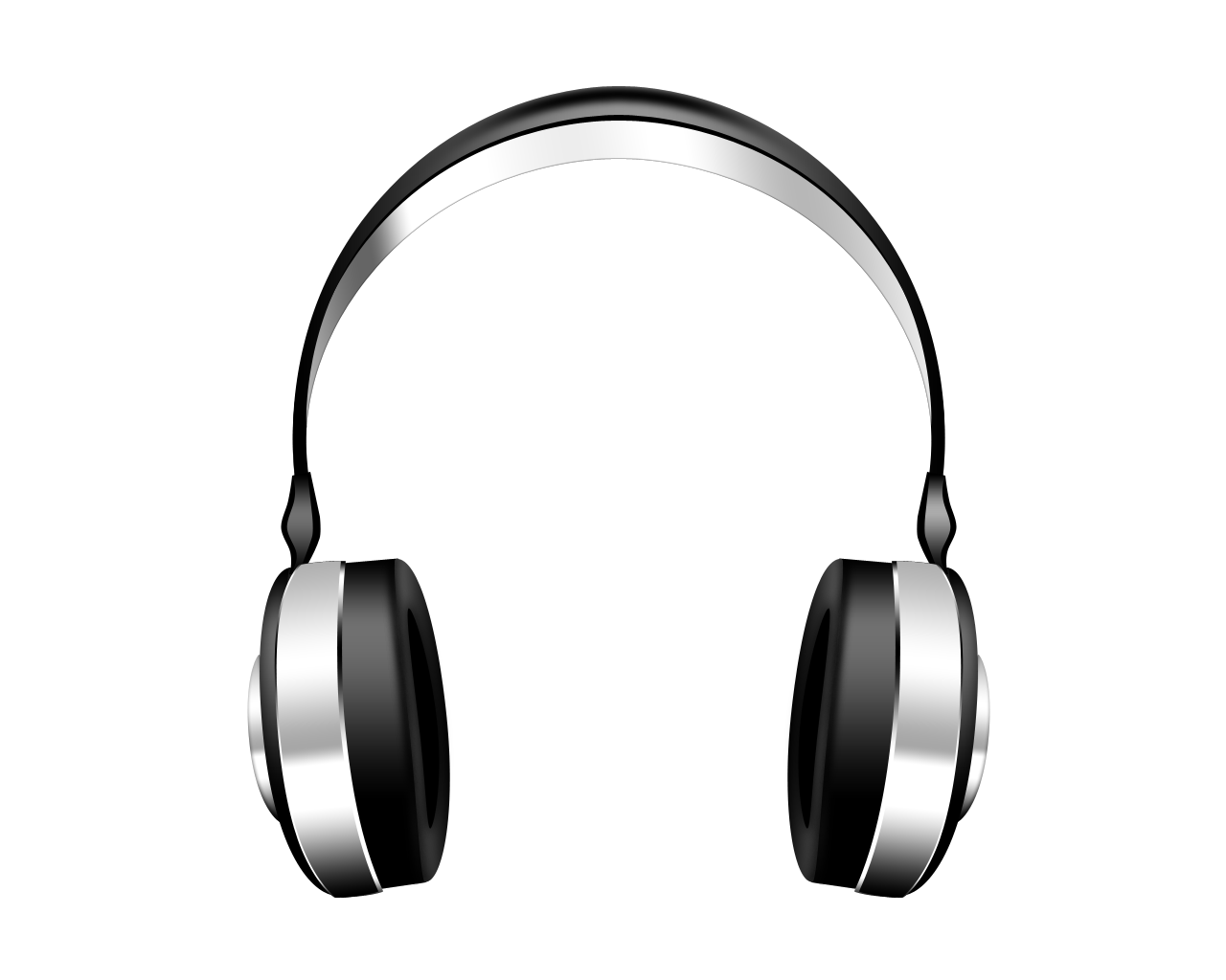 White headphone clipart transparent background transparent stock Headphones PNG Images Transparent Free Download | PNGMart.com transparent stock
