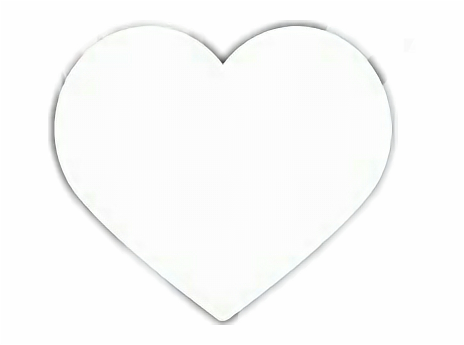 White heart clipart white clip art black and white Instagram Heart Png Transparent Images - White Heart Black ... clip art black and white