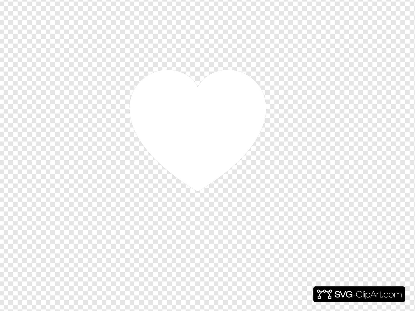 White heart clipart transparent background image free White Heart Clip art, Icon and SVG - SVG Clipart image free