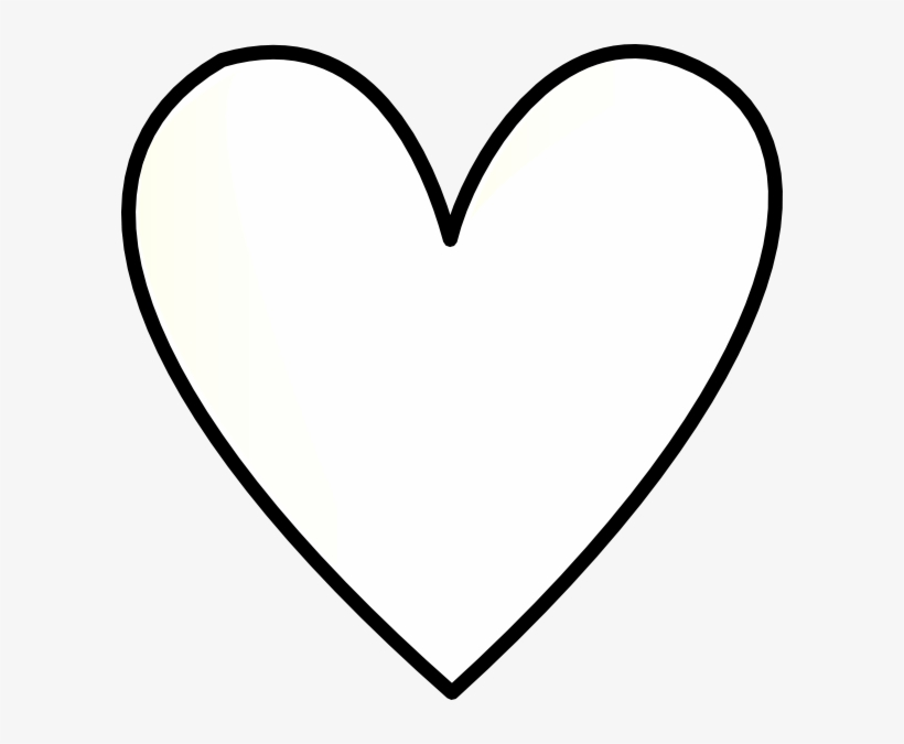 White heart clipart transparent background clipart transparent download Halloween Heart Cliparts Free Collection - Shapes With ... clipart transparent download