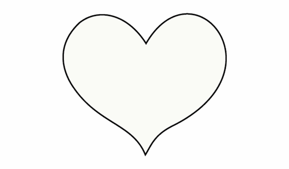 White heart clipart transparent background clip art royalty free stock How To Draw Heart - Transparent Background White Transparent ... clip art royalty free stock