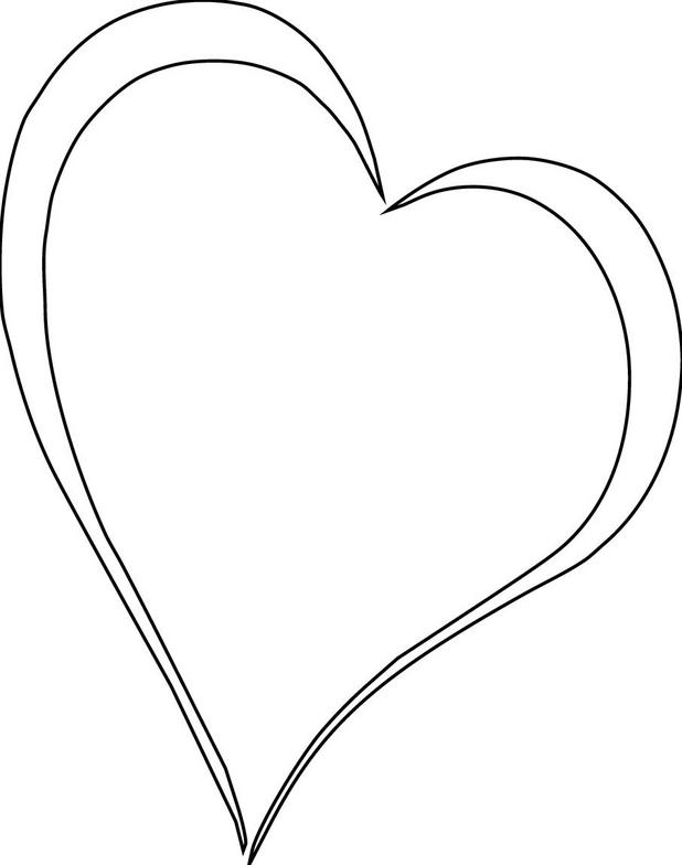 White heart clipart white png black and white download Free White Heart Cliparts, Download Free Clip Art, Free Clip ... png black and white download
