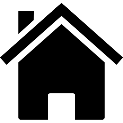 White home icon transparent clipart clipart black and white Home Icons transparent PNG images - StickPNG clipart black and white