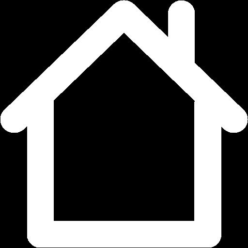 White home icon transparent clipart freeuse stock White home 2 icon - Free white home icons freeuse stock