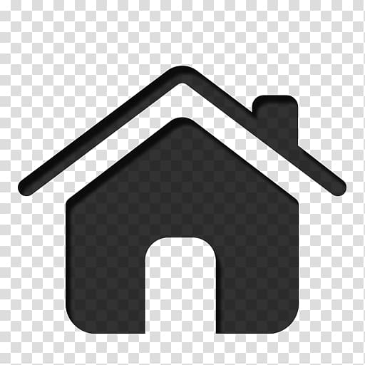 White home icon transparent clipart picture transparent library Computer Icons Home , Black Home Icon transparent background ... picture transparent library