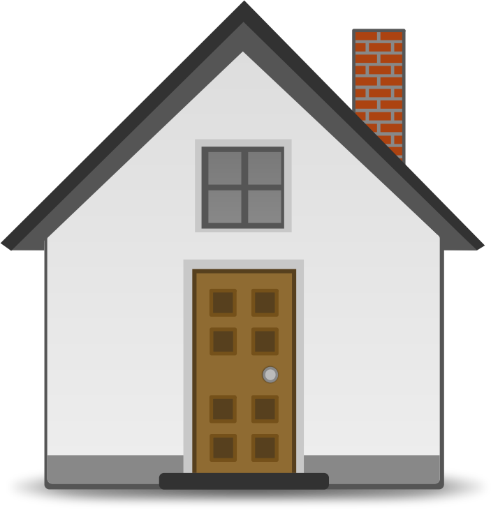 White house clipart free svg Stick house clipart free clipart images Clipartingcom, stick house ... svg
