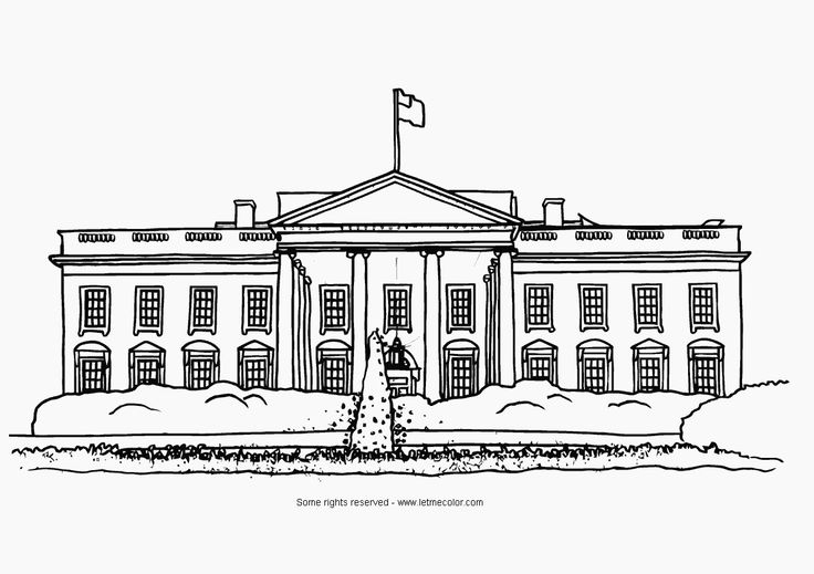 White house free clipart picture freeuse stock House black and white white house clipart black and ... picture freeuse stock