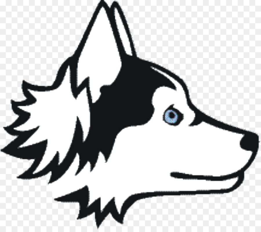 White husky clipart clip royalty free Cat And Dog Cartoon clipart - Cat, Husky, White, transparent ... clip royalty free