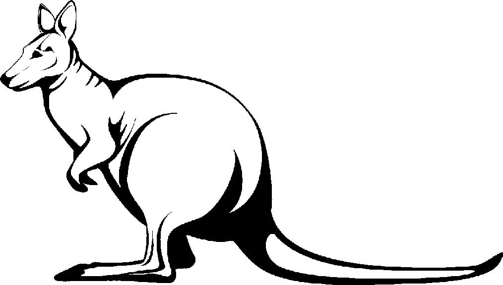 White kangaroo clipart jpg royalty free stock Free Kangaroo Cliparts, Download Free Clip Art, Free Clip ... jpg royalty free stock