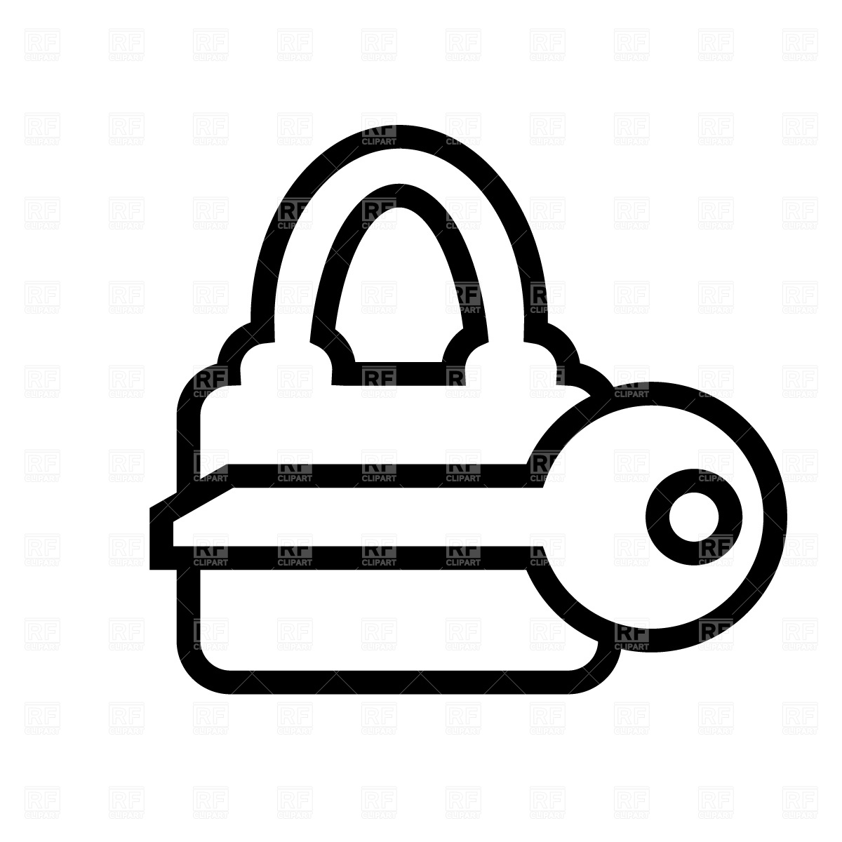 White keyed lock clipart svg Lock Clipart   Free download best Lock Clipart on ClipArtMag.com svg
