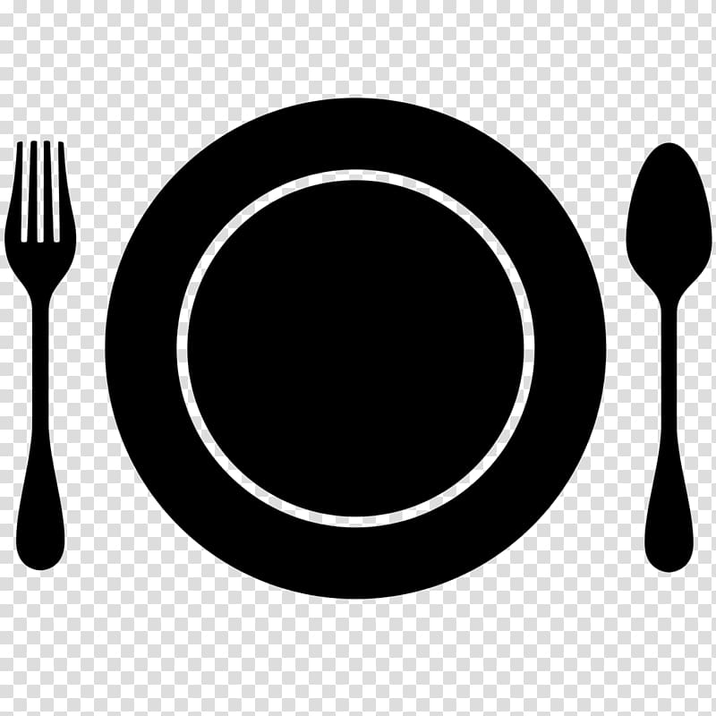White knife spoon plate clipart image freeuse download Plate, spoon and fork , Computer Icons Plate Nutrition Out ... image freeuse download