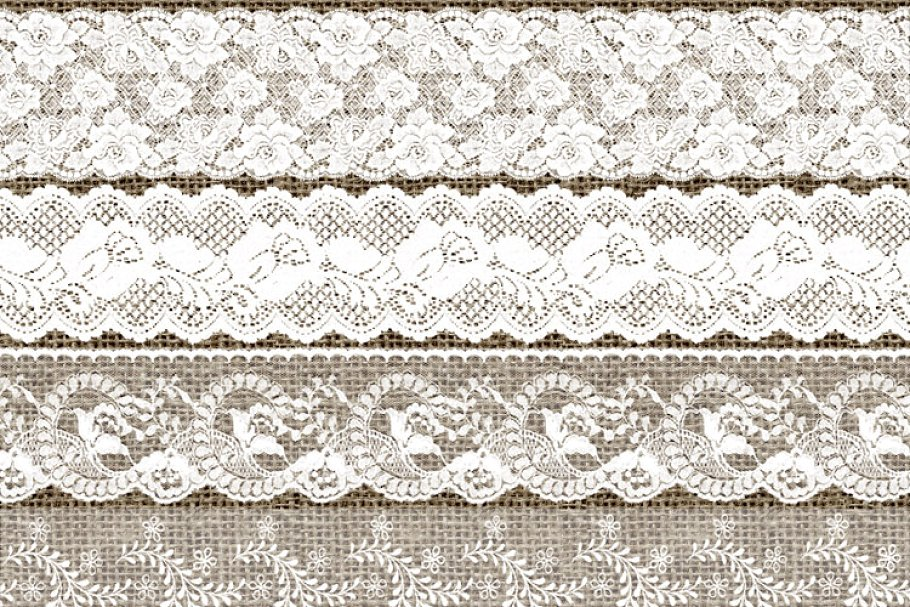White lacy border clipart png stock White Lace Borders Clipart png stock