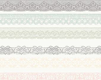 Wedding trim clipart png black and white Free Lace Trim Cliparts, Download Free Clip Art, Free Clip ... png black and white